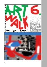 Kunstzeitung Laterne Nr.5 - Kunstverein Laterne e.V.
