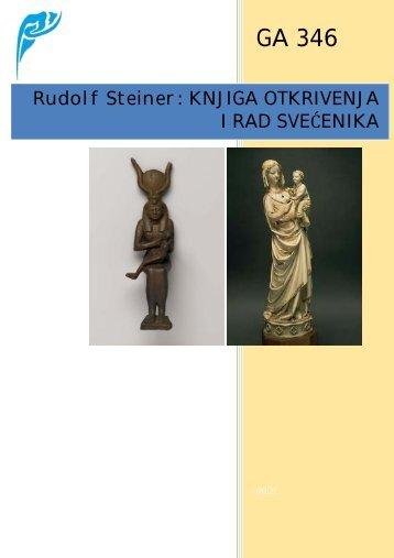 Rudolf Steiner - Knjiga otkrivenja i rad svecenika (GA ... - Antropozofija