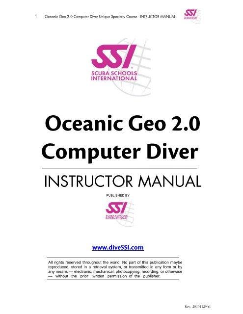 Oceanic Veo 2.0 Dual Algorithm Dive Computer Module Only
