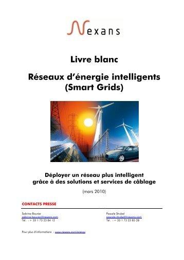 Livre blanc Réseaux d'énergie intelligents (Smart Grids) - Nexans