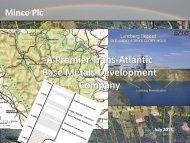 Minco Plc - Proactive Investors