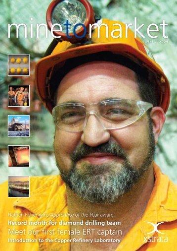 Mine to Market - July 2008 - Ernest Henry Mining