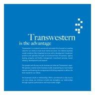 Corporate Brochure - Transwestern