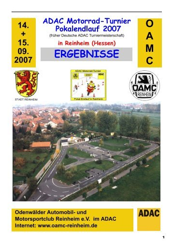ADAC Motorrad-Turnier Pokalendlauf 2007 - OAMC Reinheim