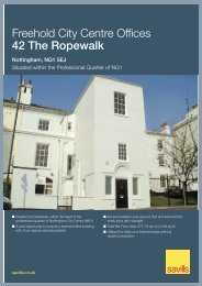 Freehold City Centre Offices 42 The Ropewalk - Savills