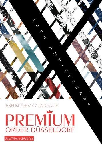Exhibitors' CataloguE - Premium Exhibitions
