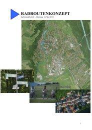 RADROUTENKONZEPT - Stadt Wolfratshausen