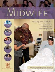 Working with hospitals: scope of practice, collaboration and integration
