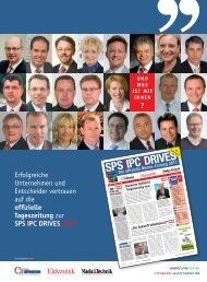 sps/ipc/drives 2011 - next!-Community