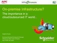 APC: On Premise Infrastructure - ASI Solutions