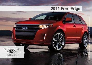 2011 Ford Edge – Sport Ausstattung - Auto Magnus