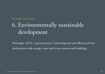 6. Environmentally sustainable development - City of Port Phillip