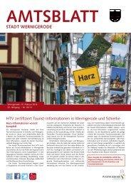 Amtsblatt der Stadt Wernigerode - 03 / 2014 (4.52 MB)