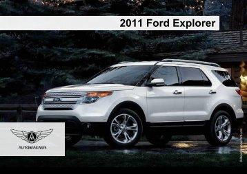 2011 Ford Explorer - Grundausstattung - Auto Magnus