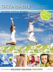 Gesundheitsmagazin St.Galler Nachrichten  Frühjahr 2014