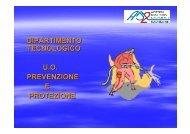 dipartimento tecnologico - Azienda Sanitaria Locale n° 2 Savonese