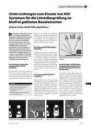 Untersuchungen zum Einsatz von AOI- Systemen für die ... - EuE24.net