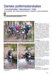 Side 5-7 Danske Politimesterskaber i mountainbike