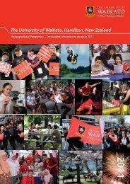 2011 The University of Waikato, Hamilton, New Zealand