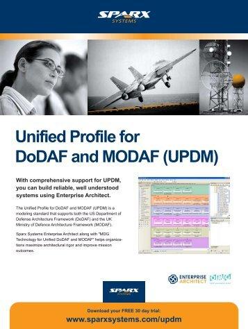 UPDM - Enterprise Architect