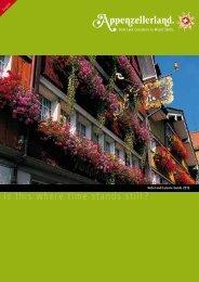 travel - Appenzellerland Tourismus
