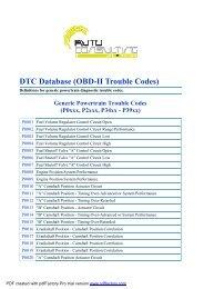 Diagnostic Trouble Code (DTC) Descriptions - TheDieselStop com