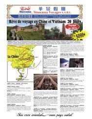 Rêve de voyage en Chine et Vietnam 39 Jours