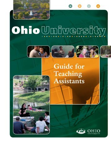 Guide for Teaching Assistants - Ohio University