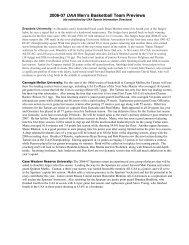read 2006-07 men's basketball capsules - University Athletic ...