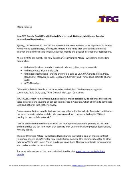 Home Phone Internet Bundles Australia | Flisol Home