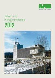 Ausgabe 2012 - beim Verband KVA Thurgau