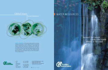 PDF Brochure - American Water Resources Association