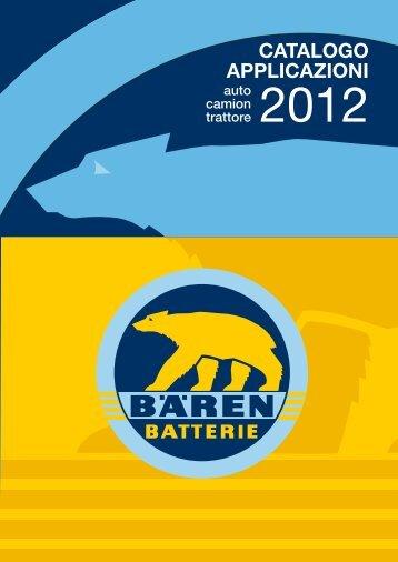 Catalogo 2012 - Bären