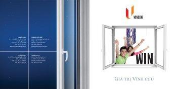 Brochure U-window - Sông Đà Thăng Long