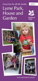 Lyme Park - Days Out Leaflets