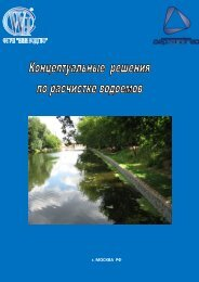 Буклет Концептуальные решения по расчистке водоемов