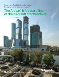 Altivar® and Altistart - BBC Pump and Equipment