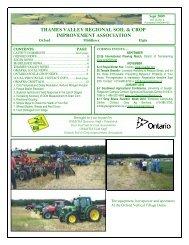 September 09 - Ontario Soil and Crop Improvement Association