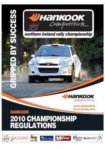 2010 Championship Regulations - Association of Northern Ireland ...