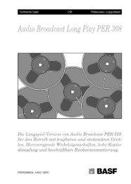 Audio Broadcast Long Play PER 368 - NEW HiFi-Classic