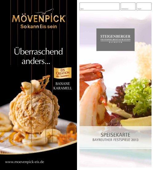 """Download Menü """"Lange Oper"""" - Steigenberger Hotel Group"""