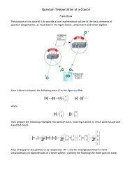 Quantum Teleportation at a Glance - Users.csbsju.edu
