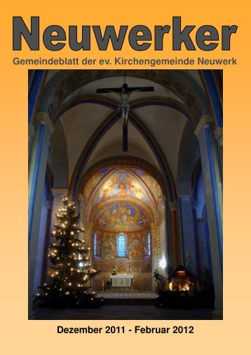 Gemeindebrief Neuwerk 04-2011 HP - Ev. luth. Kirchengemeinde ...