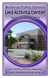 Spring/Summer 2013 - Bellevue Public Schools