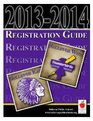2013-2014 School Year - Bellevue Public Schools
