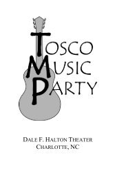 TMP 4-17-10 Program - Final II - Tosco Music Party