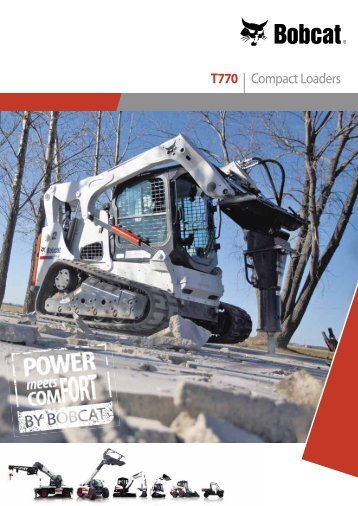 T770 | Compact Loaders - Bobcat.eu