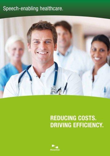 Speech-enabling healthcare - Nuance