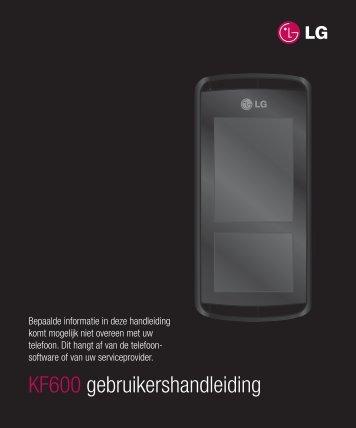 KF600 gebruikershandleiding - Toestelhulp