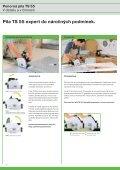 Ponorná pila TS 55 - PK Festool - Page 4